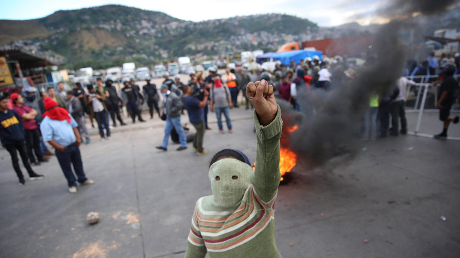 Protestas En Honduras Dejan 19 Muertos