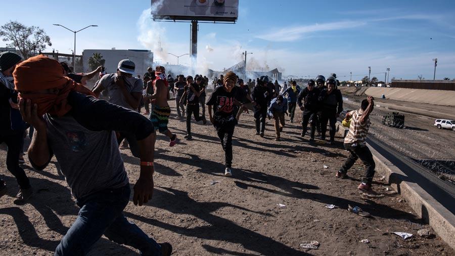 UU Vigil A Periodistas En Caravana Migrante Segn Medio