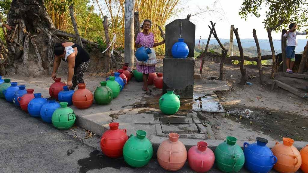 Crisis de agua en El Salvador