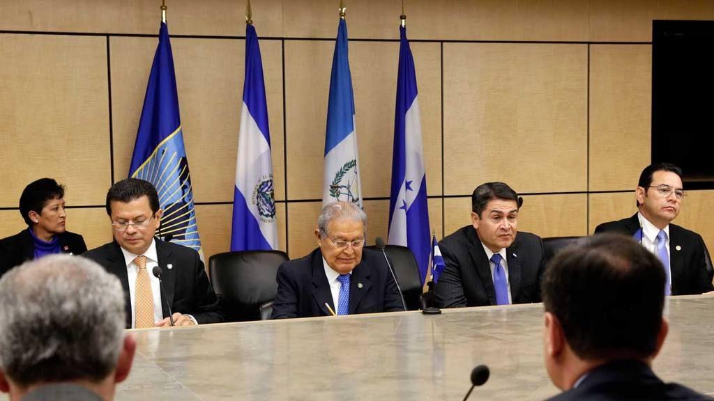 Mandatarios de Triángulo Norte consolidan estrategia de seguridad conjunta