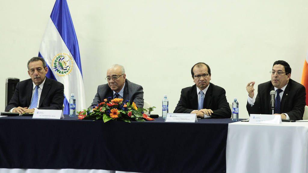 Magistrados de la Sala de lo Constitucional