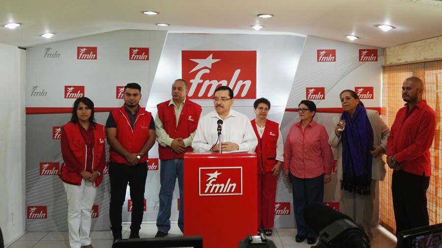 Medardo González FMLN