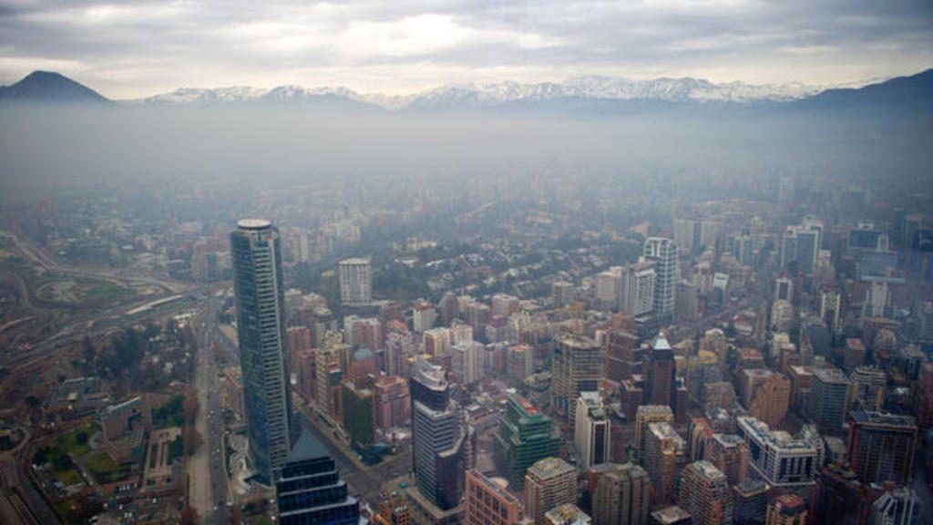Se mantiene la alerta en Santiago de Chile por la mala calidad del aire