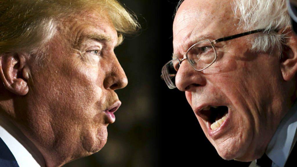 Trump debatiría con Sanders