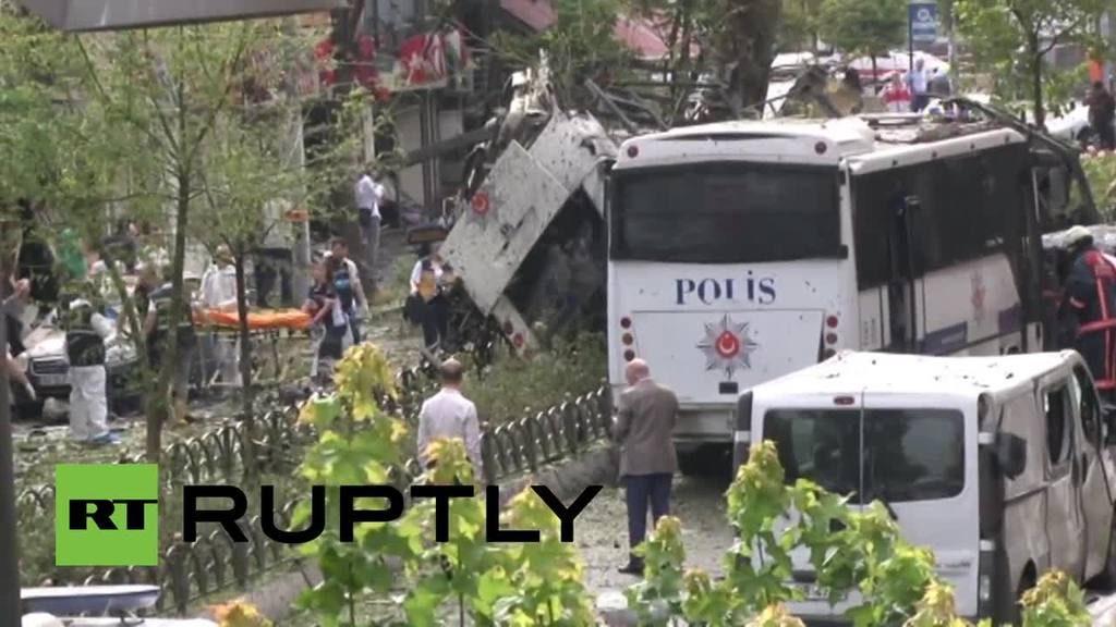 Explosión en Estambul deja al menos 11 muertos