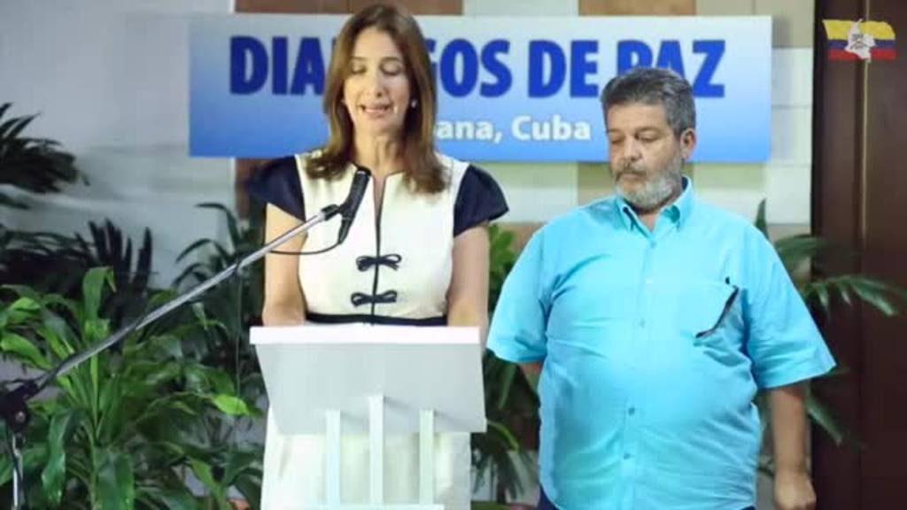 Anuncian el cese al fuego bilateral en Colombia