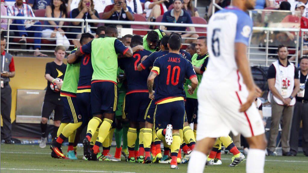 Colombia vs. Estados Unidos