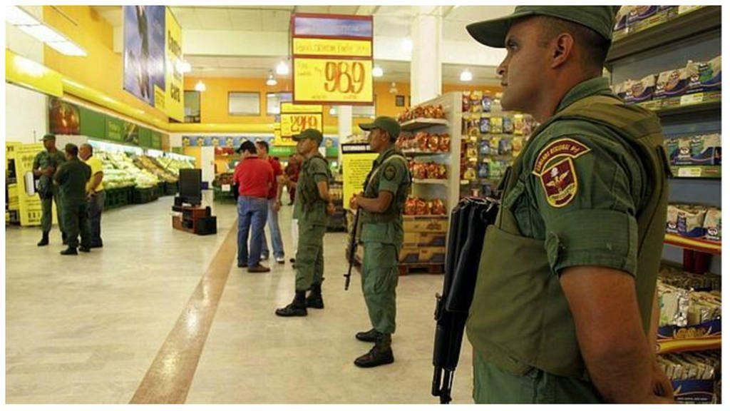 Cientos de detenidos tras ola de saqueos a comercios en el oeste de Venezuela