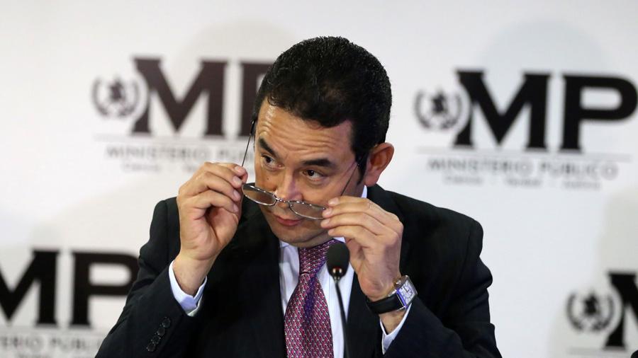 Jimmy Morales desata crisis en Guatemala