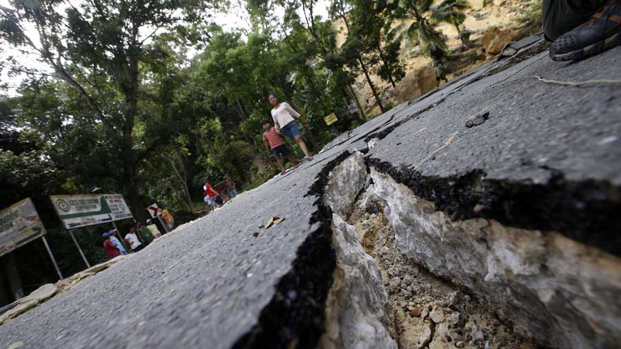 Sismo de magnitud 6.8 sacude a Filipinas