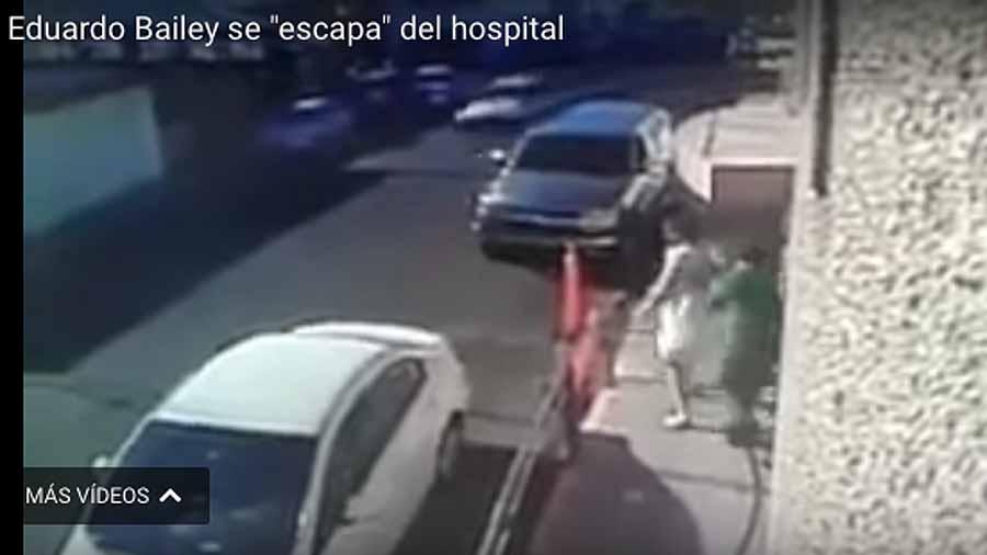 Funcionario mexicano acusado de malversación se escapa en bata de hospital
