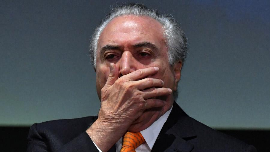 Temer contra las cuerdas por casos de corrupción en Brasil