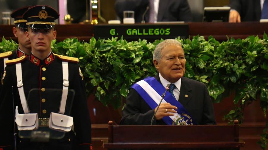 Presidente Sánchez Cerén: impulsaremos un segundo pacto fiscal