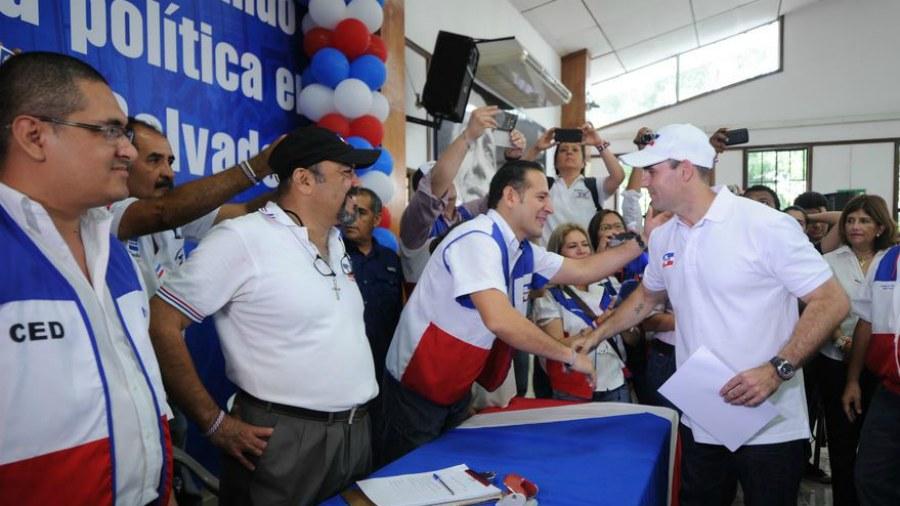 Alcaldes de ARENA buscan reelegirse sin competidores