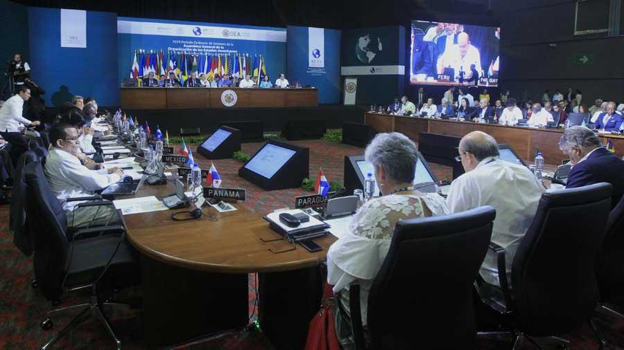 La OEA deja abierto el debate sobre la crisis de Venezuela