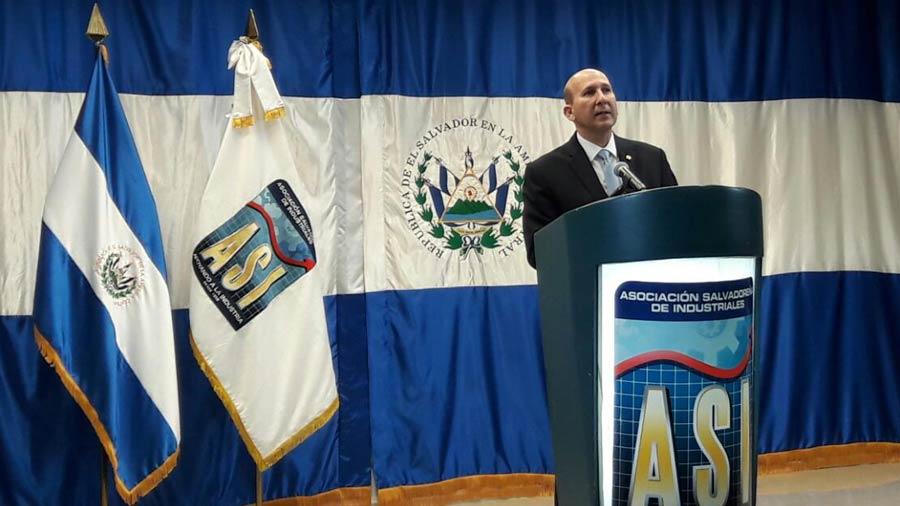 Javier Simán anuncia su renuncia de la Asociación Salvadoreña de Industriales