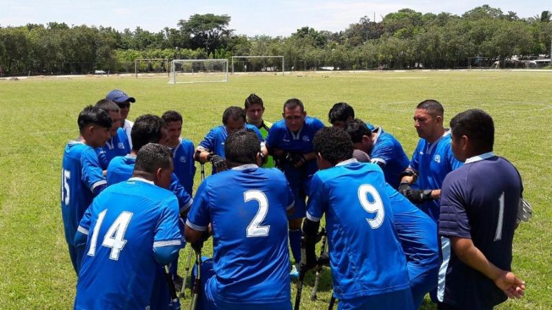 La final de fútbol de amputados la diputarán El Salvador y Costa Rica