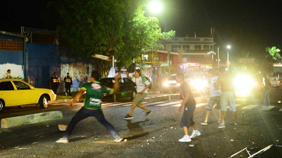 Gresca tras el empate entre Águila y Sonsonate