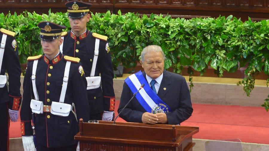 El 30 % de las iniciativas aprobadas en la Asamblea son de Sánchez Céren