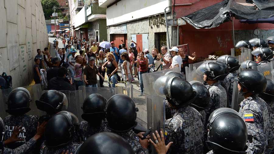 Guardia Nacional reprime saqueos en localidad de céntrico estado de Venezuela