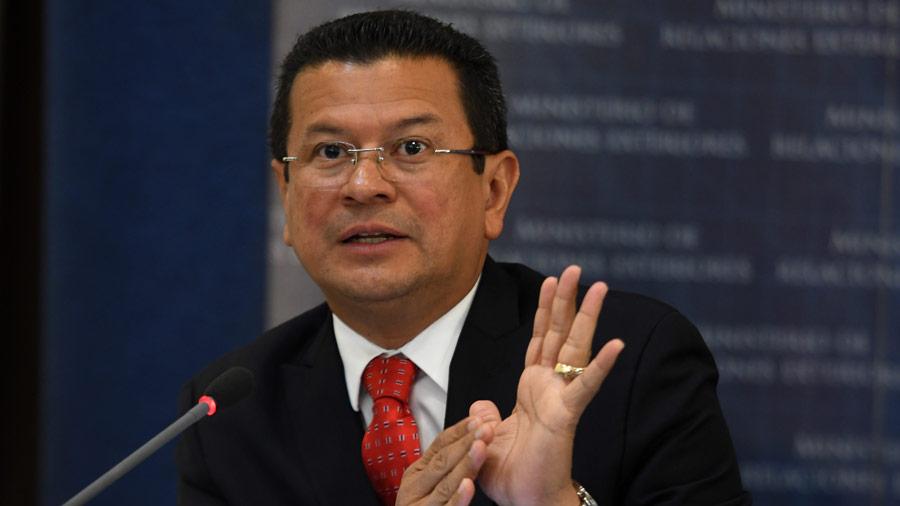 Cancillería El Salvador responde a Trump por supuesto insulto y pide que lo oficialice