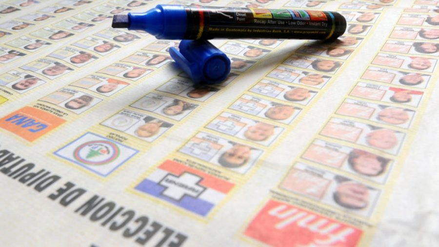 Hombres tienen más ventaja en las papeletas de votación