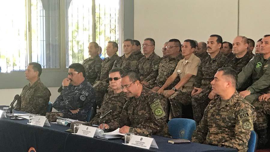 Fuerza Armada niega existencia de grupos de exterminio en la institución