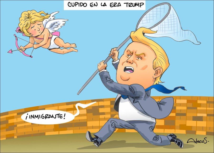 Cupido en la era Trump