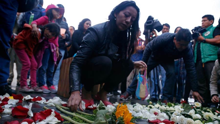 Ecuador aún sin ubicar cuerpos de periodistas
