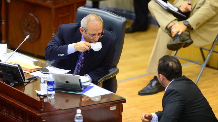Sigfrido Reyes pide apartar a la Sala de su caso de Probidad