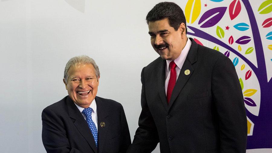 Presidente salvadoreño viaja a Venezuela para participar investidura de Maduro