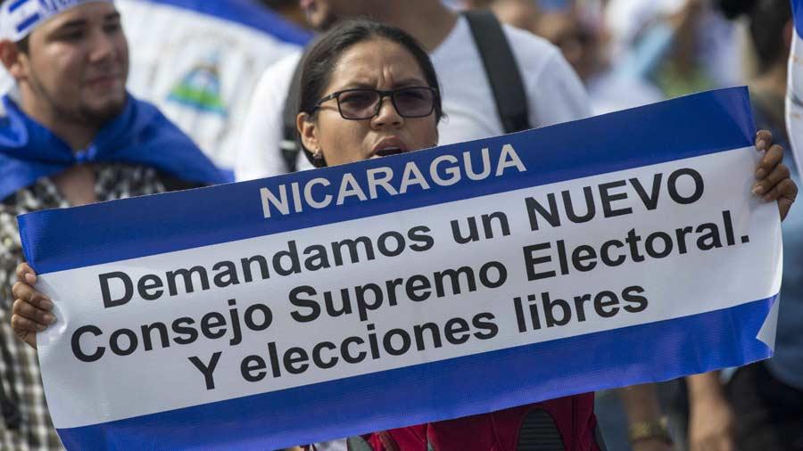 Ortega adelantaría las elecciones en Nicaragua