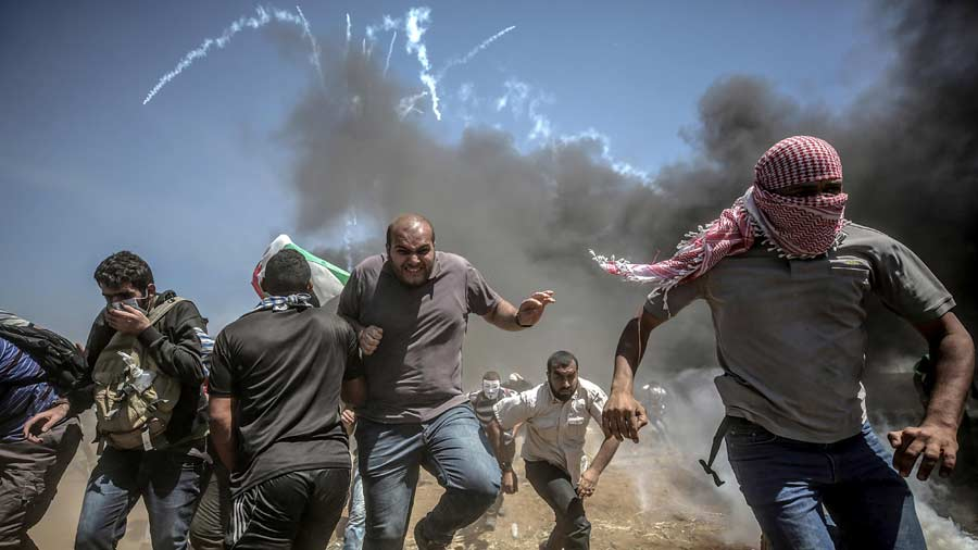 Ascienden a 60 los muertos en Gaza en protestas contra Embajada de EE.UU.