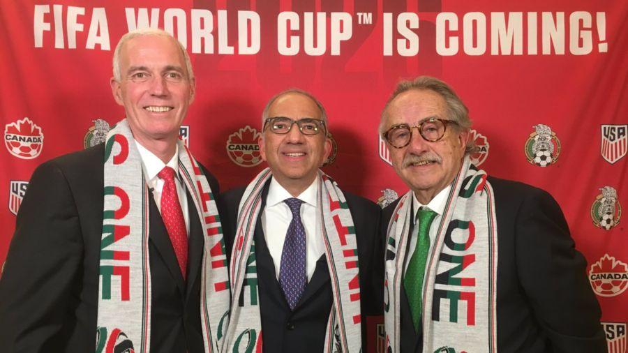 El Mundial de 2026 será en EEUU, México y Canadá