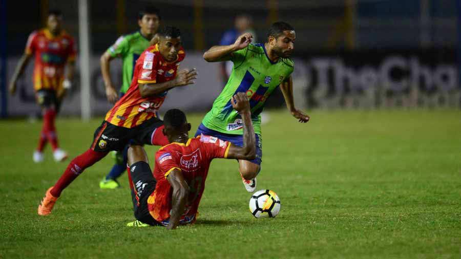 Santa Tecla logró la victoria, pero fue eliminado de Liga Concacaf