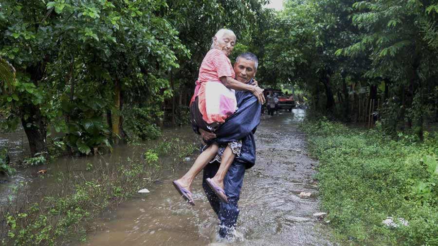 Imágenes de la destrucción que ha dejado la tormenta tropical Michael en su paso por El Salvador