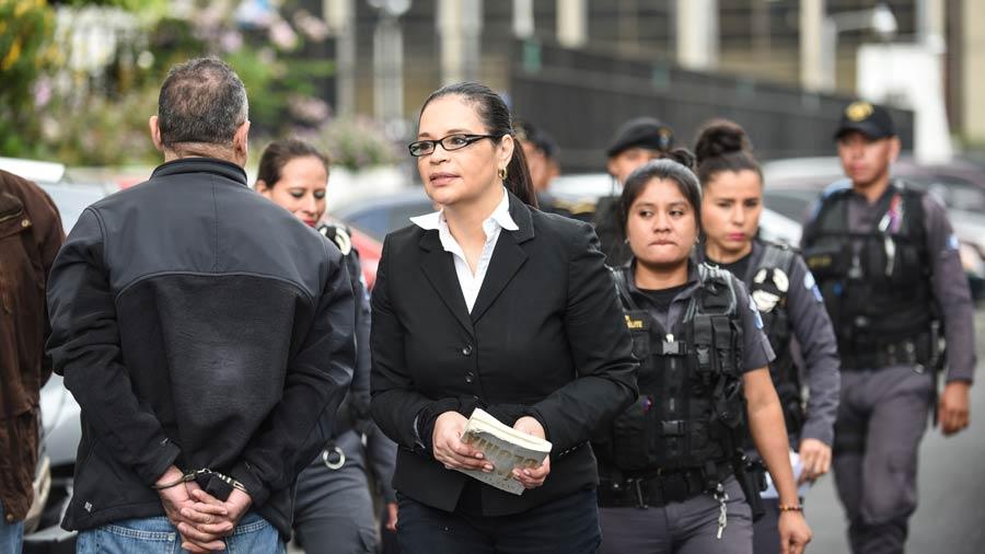 Exvicepresidenta de Guatemala, Baldetti, condenada a 15 años por fraude al Estado