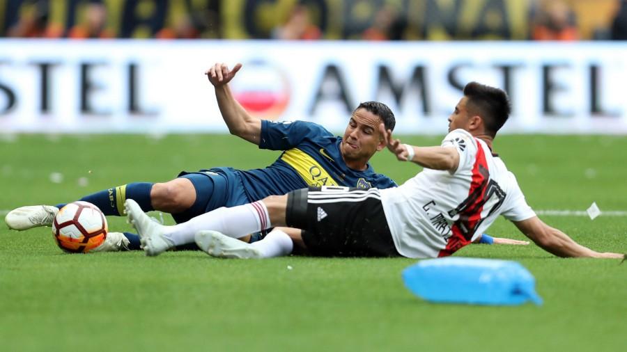 Boca Juniors y River Plate empatan en final de ida de Copa Libertadores