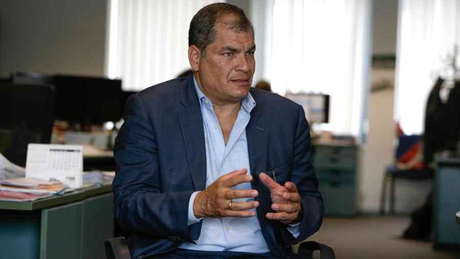 Ecuador abre juicio a expresidente Rafael Correa por secuestro de opositor