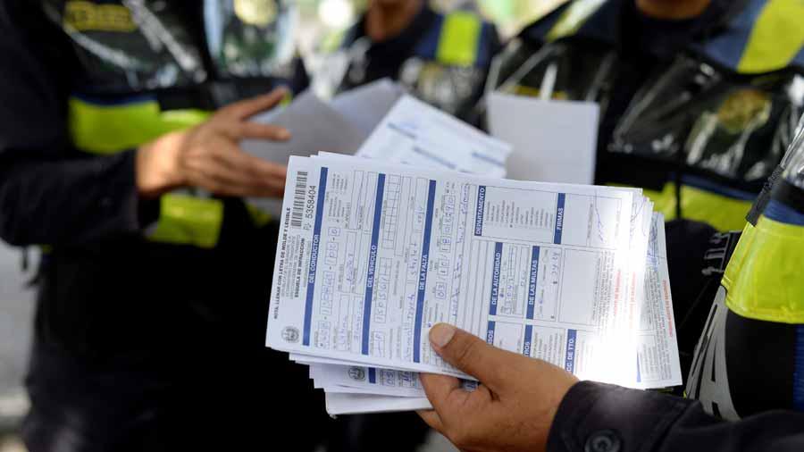 Policías no están sobre la Ley de Tránsito