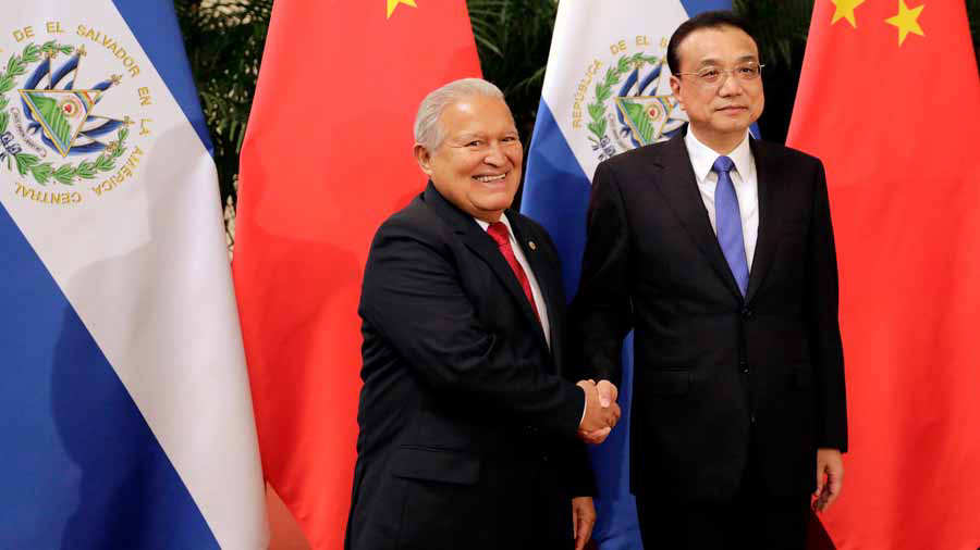Presidente Sánchez Cerén anuncia ayuda china por $150 millones