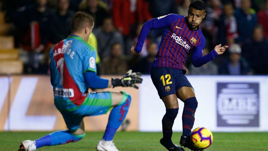 Barcelona remontó gracias a Dembélé y Suárez ante Rayo Vallecano
