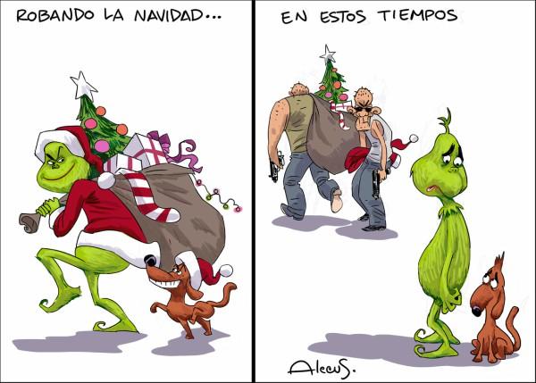 ¡Robando la Navidad!