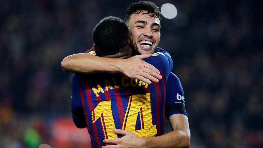 Barcelona, sin sorpresas avanza a los octavos de Copa del Rey