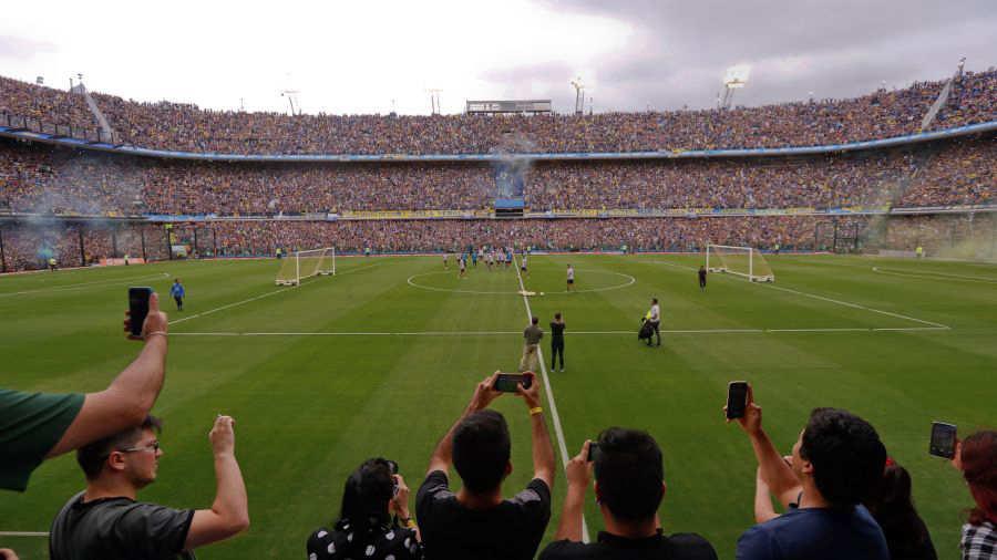 Evacúan el estadio de Boca Juniors por una amenaza de bomba