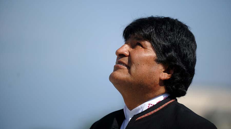 Evo Morales va tras cuarto mandato consecutivo