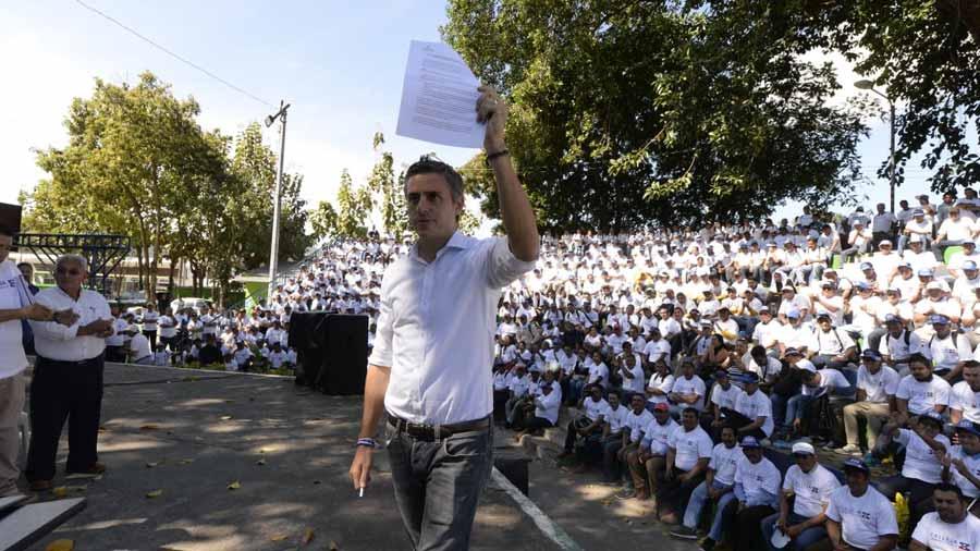 Carlos Calleja se compromete a agilizar proyectos para el sector industrial