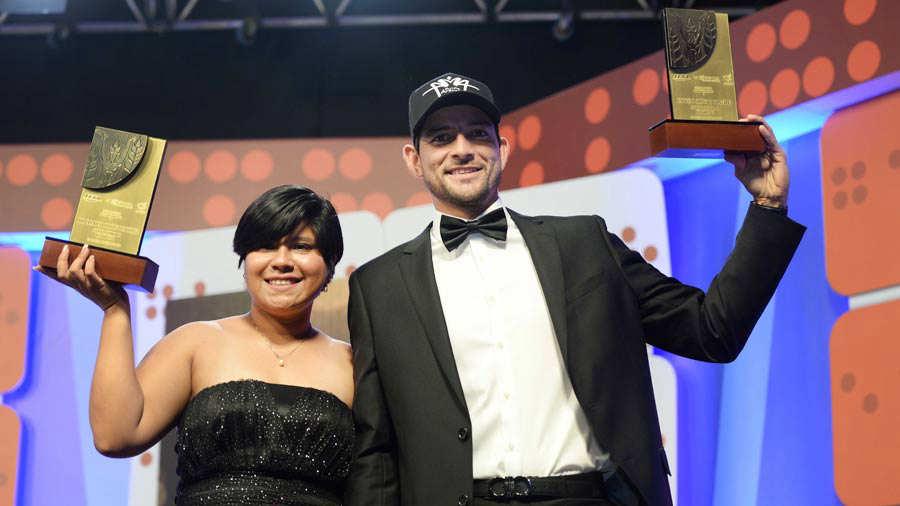 Ana Ramírez y Marcelo Arévalo, elegidos como los atletas del año