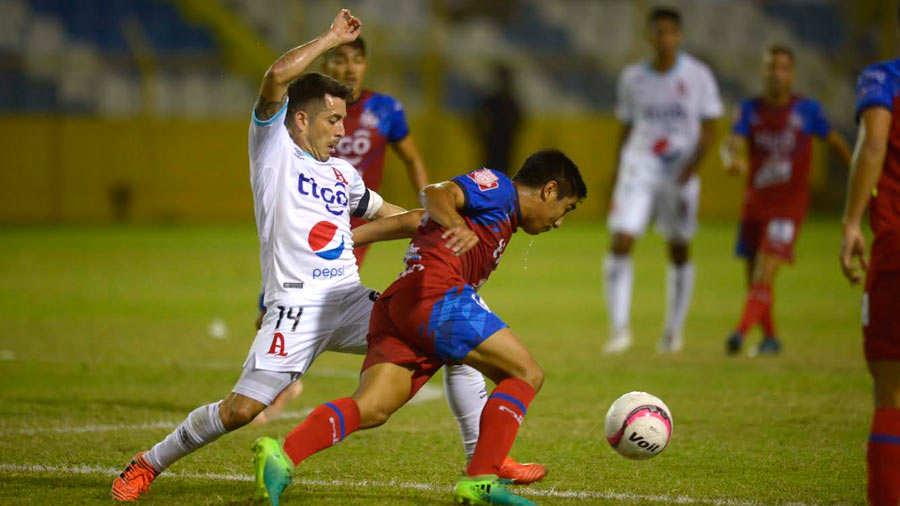 FAS y Alianza FC dejaron todo para la vuelta en semifinales