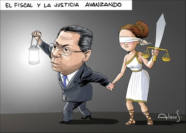 El Fiscal y la justicia avanzando